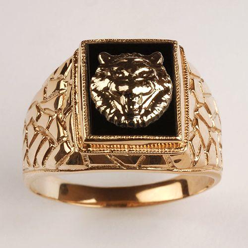 Мужские кольца из золота фото
