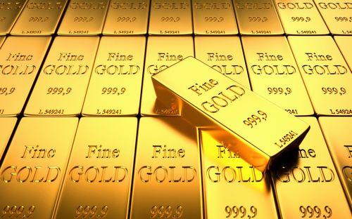 Золотые слитки 999 пробы