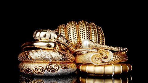 Изделия с золотым напылением
