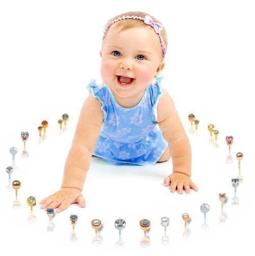 Сережки для маленьких девочек