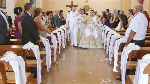 Золотой дождь на цыганской свадьбе