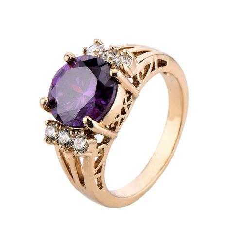 Кольцо из пурпурного золота